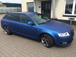 Audi A6 wrap