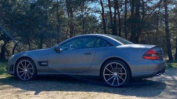 Mercedes SL wrap