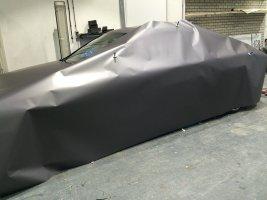 Mercedes c-klasse wrap