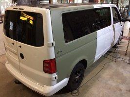 Volkswagen transporter wrap
