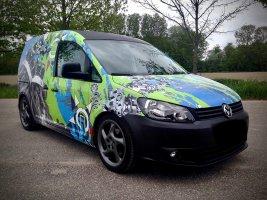 Volkswagen Caddy wrap