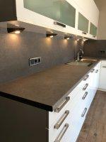 Beton-look keukenblad wrap