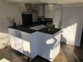 Hout-look keuken keukenwrap