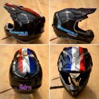 Bmx helmwrap