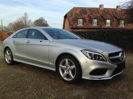 Mercedes cls wrap
